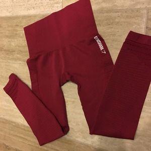 Gymshark Seamless Leggings Dry Moisture Management